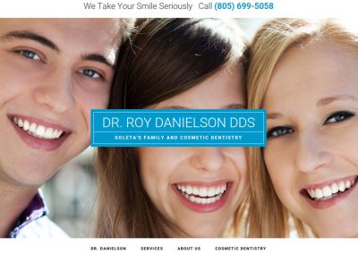 Dentist – OnePager
