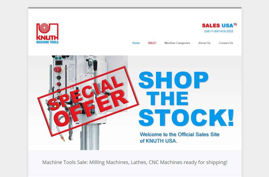 Knuth Machinetools USA