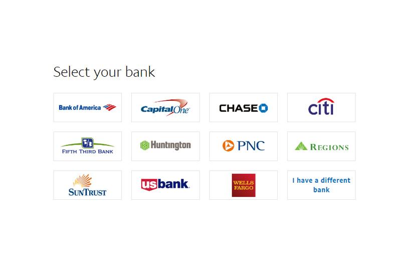 PayPal Bank Login