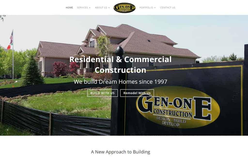 Gen One Website