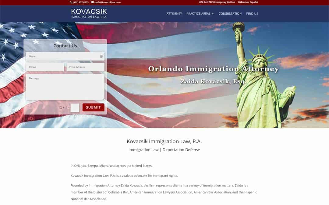 Kovacsik Immigration Law