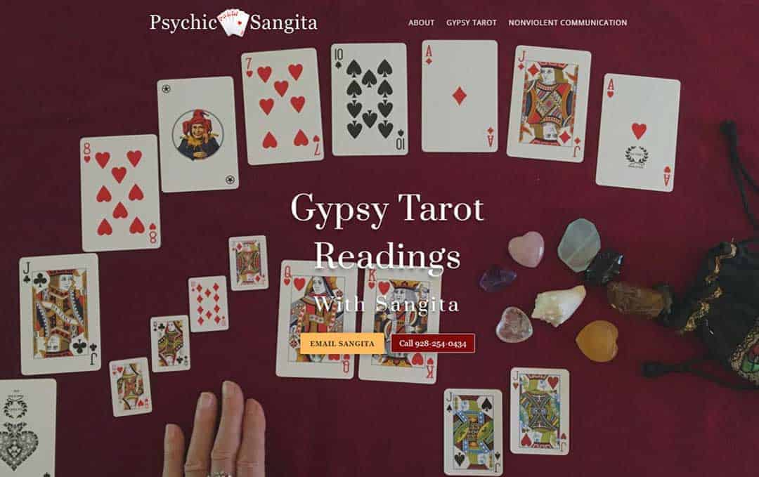 Psychic Sangita Website
