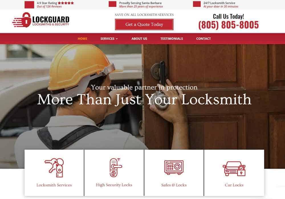 Website for Locksmiths