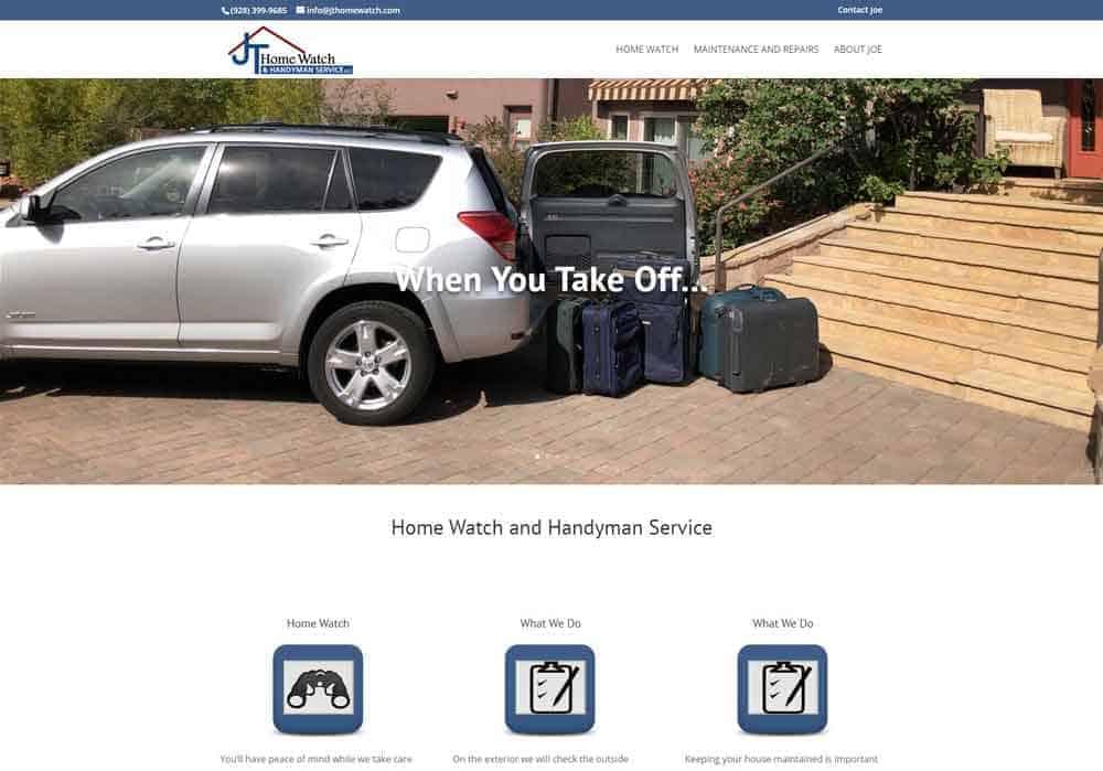 JT Homeservice website design